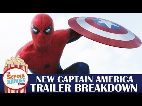 Captain America: Civil War Final Trailer Breakdown - Spider-Man Revealed!