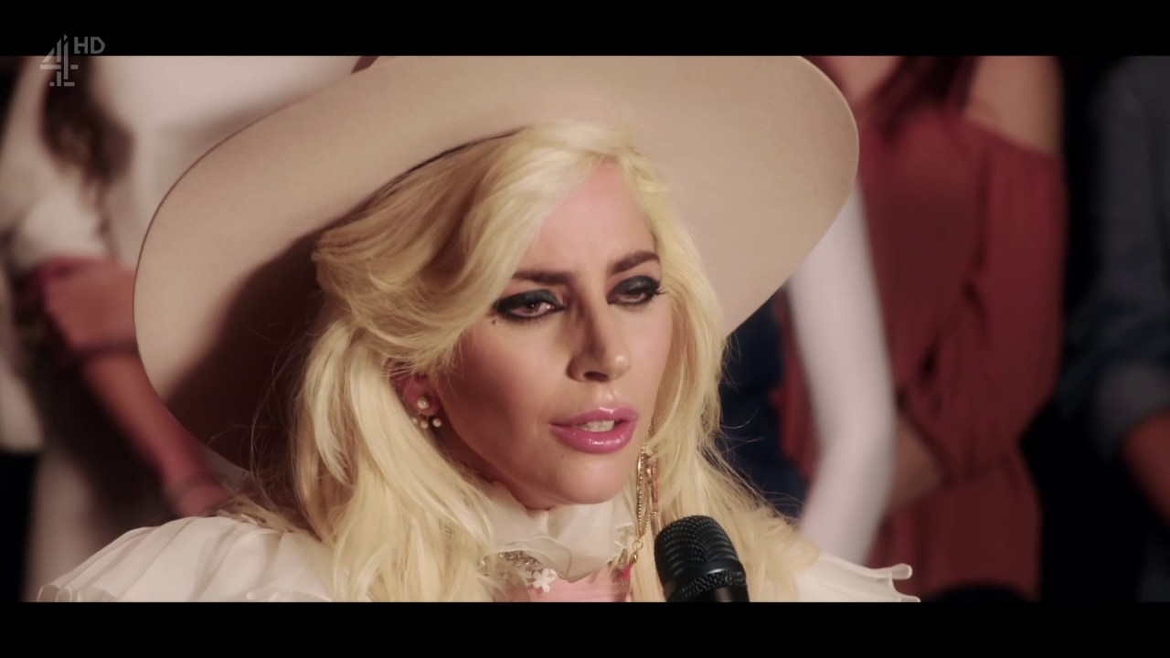 Lady Gaga - Million Reasons [Live HD on Alan Carr's Happy ... Lady Gaga Million Reasons
