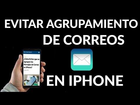 ¿Cómo Evitar que se Agrupen los Mensajes de Correo en iPhone?