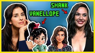 Ralph Breaks the Internet Cast Funny Moments (Gal Gadot, Sarah Silverman)