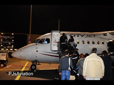 FLYING THE JUMBOLINO TO LONDON CITY! - Tripreport! KLM/CityJet Avro RJ-85 AMS-LCY