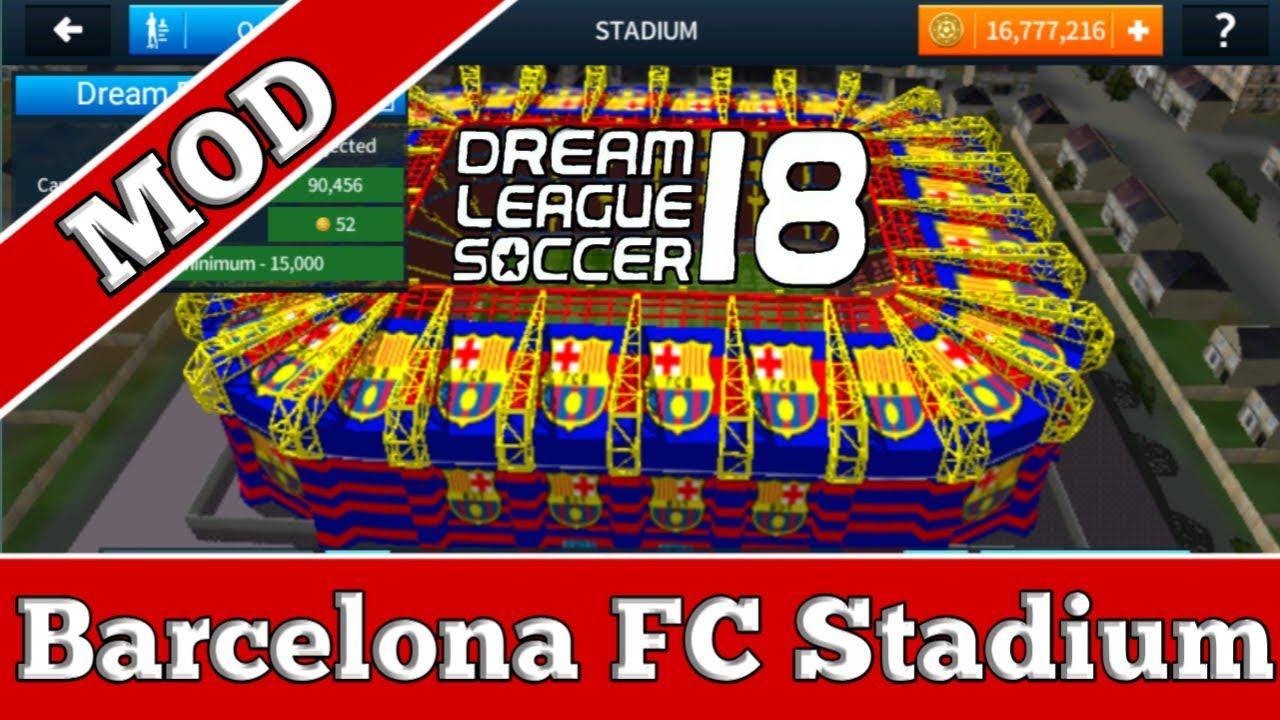 18daf2881 How to customize the stadium of Dream League Soccer 2018 (Barcelona Stadium)