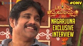 Nagarjuna Exclusive Interview | Om Namo Venkatesaya Movie | Anushka | Pragya | Saurabh