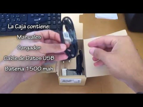 Unboxing Samsung Galaxy S Duos 2 GT-S7582 Español