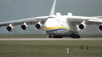 Antonov 225 Mriya Departs Manchester Airport, 26th June 2013