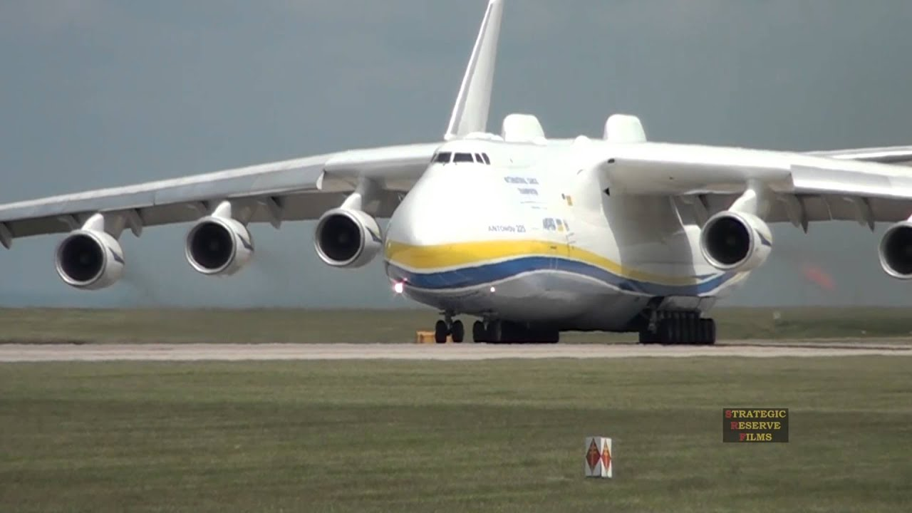 Airplane Full Hd Wallpaper Antonov 225 Mriya Departs Manchester Airport 26th June