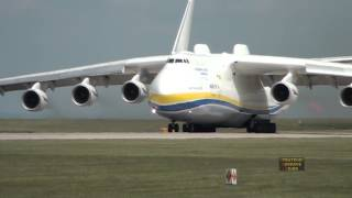 Top 10 Airlines - Antonov 225 Mriya Departs Manchester Airport, 26th June 2013