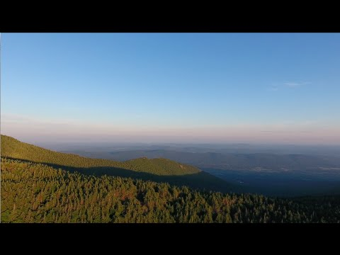 Sunrise over Vermont's Green Mountains