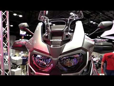 2018 Honda Africa Twin DCT ND Premium Features Edition First Impression Walkaround HD