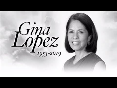 Gina Lopez Dies At 65 | ANC