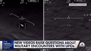 New videos raise questions about military UFO encounters