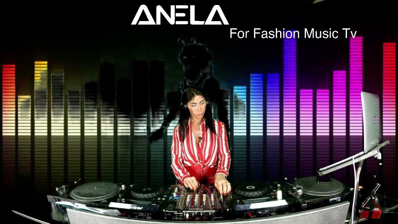 Anela @Fashion Music TV Channel Italy // Radio 105,0 // Techno live mix