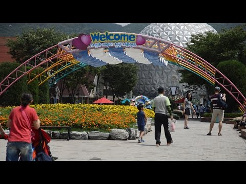 Seoul Land Amusement Park, Korea | 서울랜드 | Travel Korea