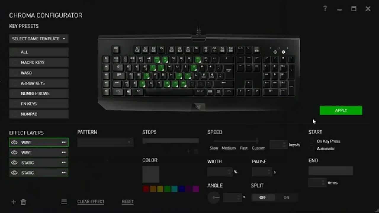 razer black widow chroma vs ultimate flirt