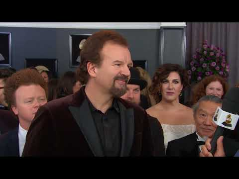 Casting Crowns Interview On The Red Carpet | Red Carpet | 60th GRAMMYs