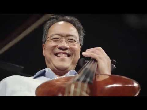 YoYo Ma and The Knights record Golijovs Azul