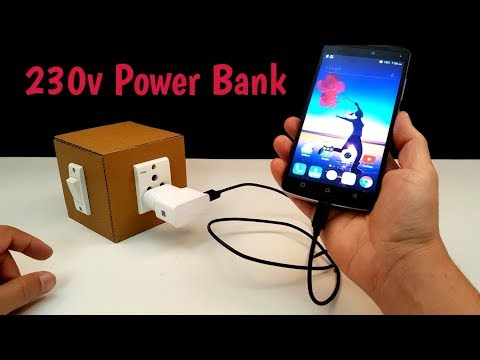 How to Make 230 volt Power Bank - Homemade