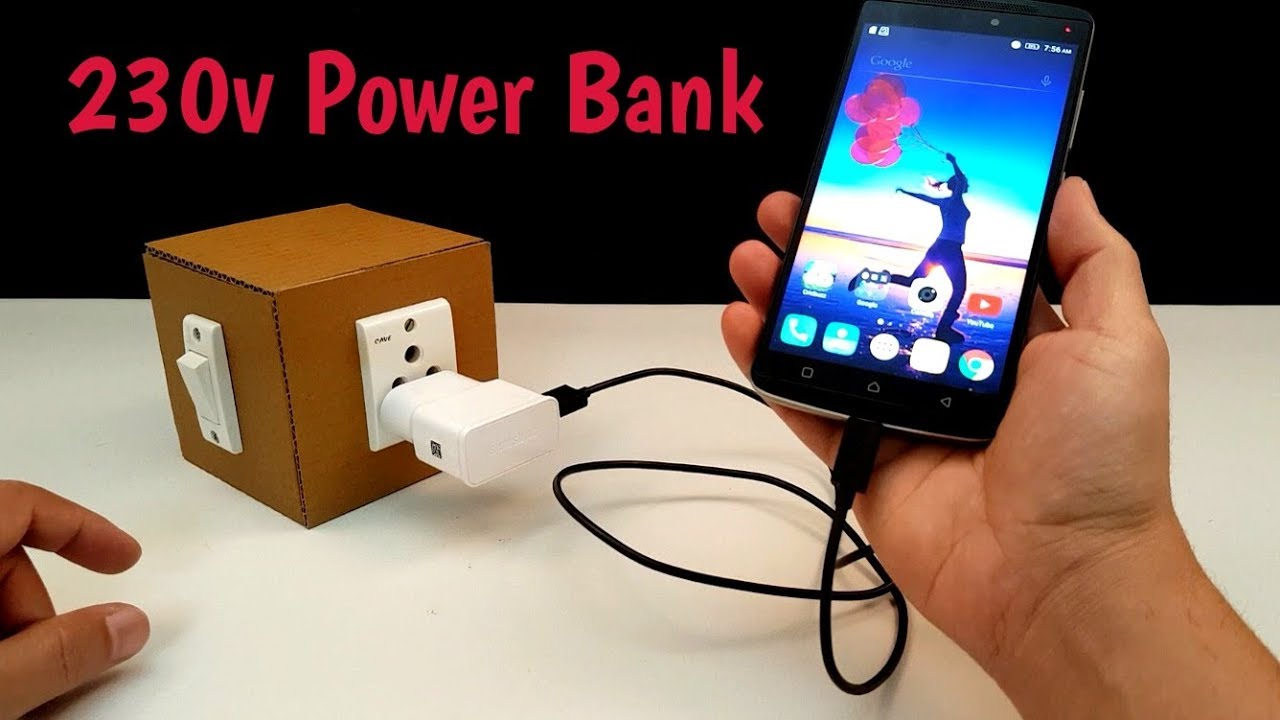 how to make 230 volt power bank homemade youtube. Black Bedroom Furniture Sets. Home Design Ideas