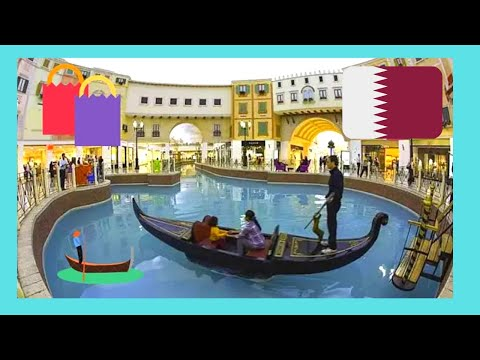 QATAR, the battery operated GONDOLAS of the VILLAGGIO SHOPPING MALL in DOHA