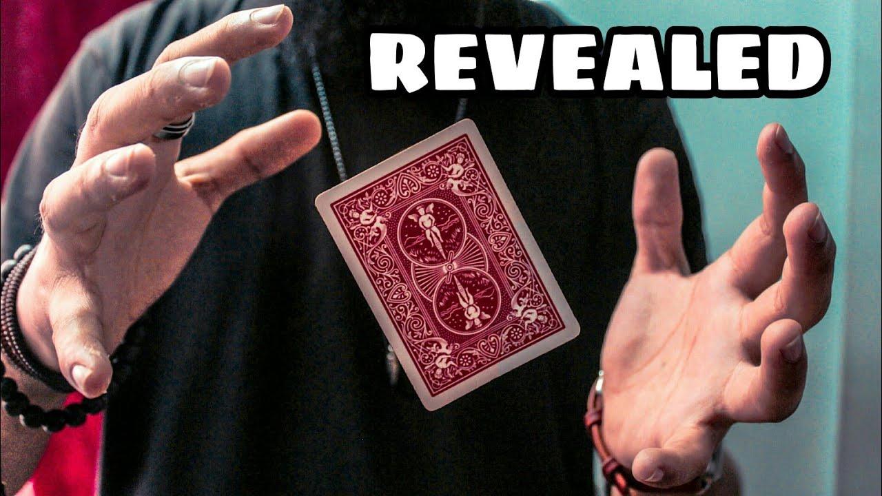 revealed  static levitating card trick  youtube