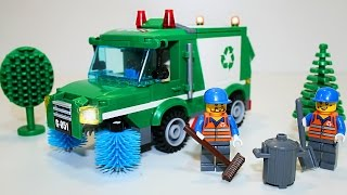 Собираем конструктор LEGO - Машинки Мусоровоз - GARBAGE TRUCK Toys(Собираем конструктор LEGO - Машинки Мусоровоз - GARBAGE TRUCK Toys - https://youtu.be/wmDjV1hndQg., 2015-10-28T05:30:00.000Z)