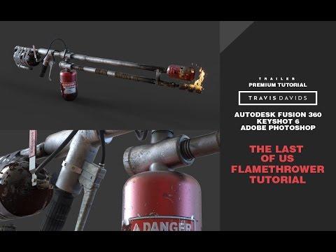 Pistol & Flamethrower – Hard Surface | FlippedNormals
