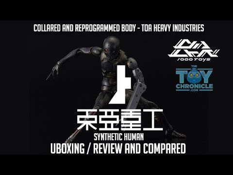 1000Toys CaRB  TOA Heavy Industries Compare SYNTHETIC HUMAN  Unboxing Review