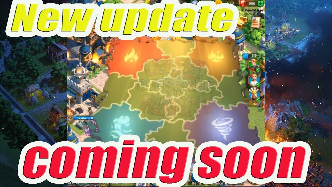 Chuẩn bị có thêm MAP mới rồi anh em ơi | Rise of Kingdoms