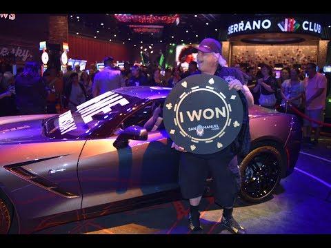 San Manuel Casino - Corvette Giveaway!