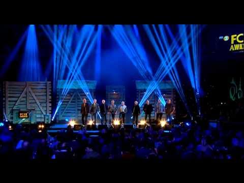 The Fisherman's Friends - Shanty Medley At Folk Awards 2014