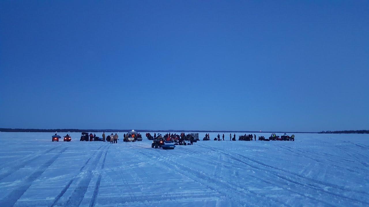 2017 lake simcoe championship ice fishing derby video for Lake simcoe fishing report