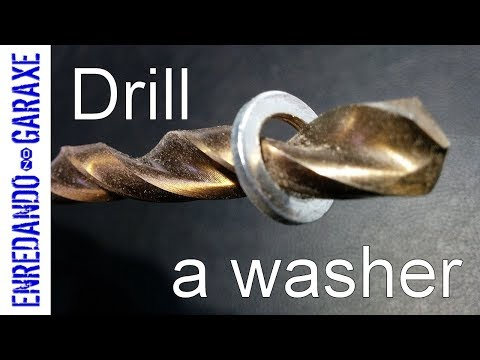 How to enlarge a washer hole