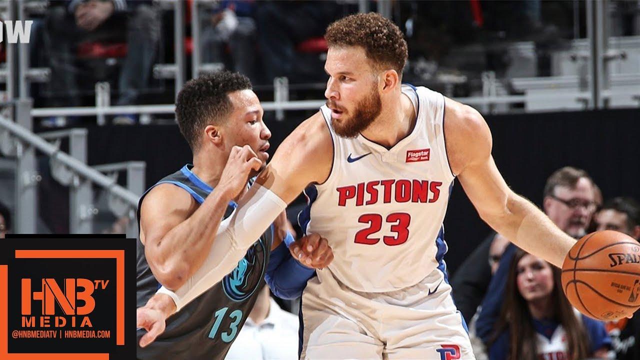 Dallas Mavericks Vs Detroit Pistons Full Game Highlights