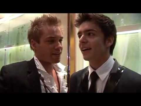 Neighbours BTS  Logies 2010 with Jordy Lucas