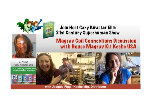 Magrav Coil Connections w/ Keshe USA Kit - Jacquie Figg - 21st Century Superhuman