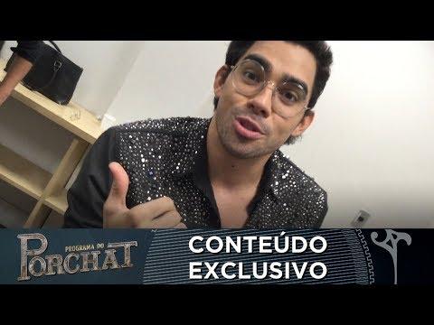 EXCLUSIVO GABRIEL DINIZ E ANDRÉ GONÇALVES MANDAM RECADO PARA PORCHAT