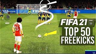 FIFA 21 - TOP 50 BEST FREE KICK GOALS!