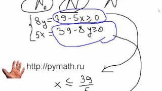 ЕГЭ математика С6. Перебор. Видео урок онлайн.
