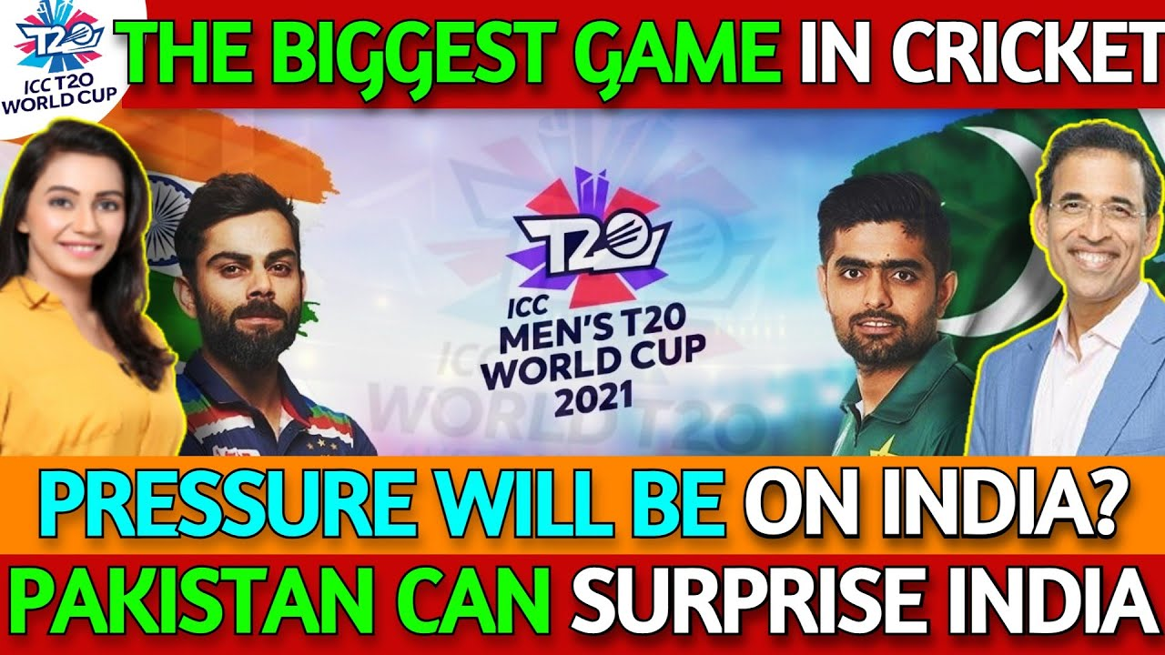 Pak can Surprise India | India vs Pakistan The Biggest Game | T20 World Cup ft. Harsha Bhogle