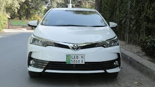Toyota Corolla Altis 1.6 2018 Facelift Owner's review: Price, Specs & Features | PakWheels