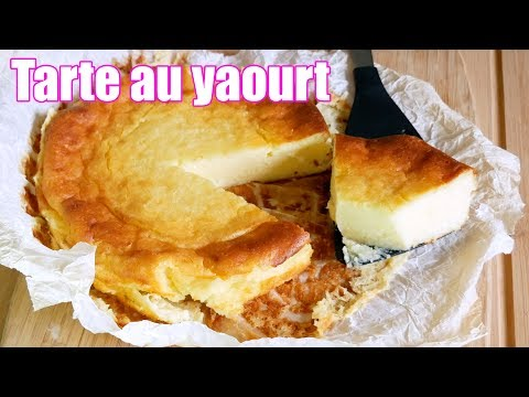 tarte-au-yaourt-avec-4-ingredients-!-🥛