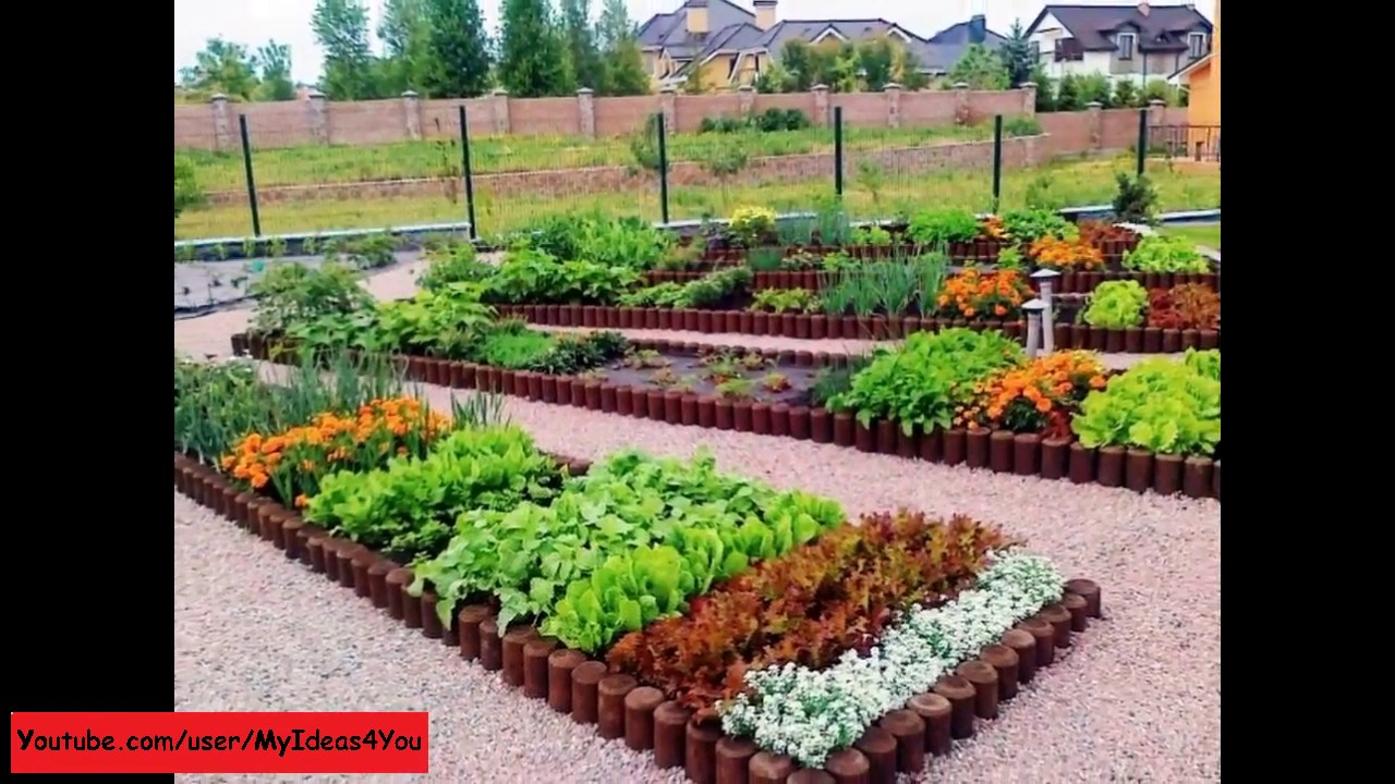 Vegetable Garden Idea raised bed garden - backyard vegetable garden design ideas