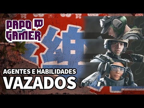 PAPO GAMER #26 - RAINBOW SIX | HABILIDADES ESPECIAIS DOS AGENTES VAZADAS!