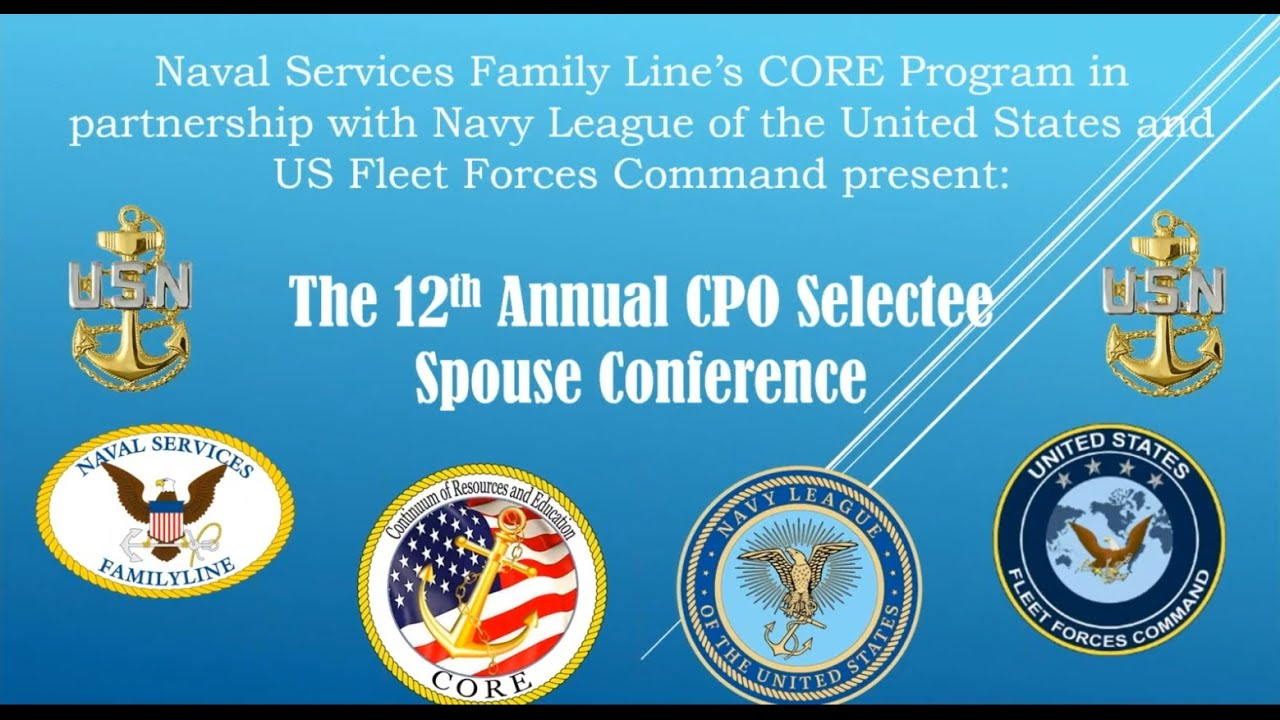FY-21 CPO Selectee Spouse Conference Videos and Handouts