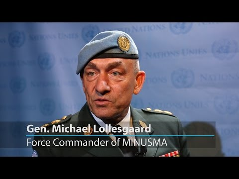 Major-General Michael Lollesgaard reflects on the situation in Mali as he leaves MINUSMA