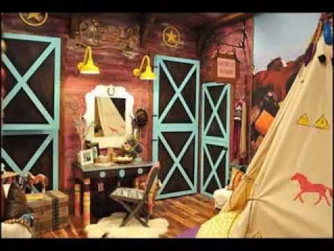 horse bedroom decorating ideas - youtube