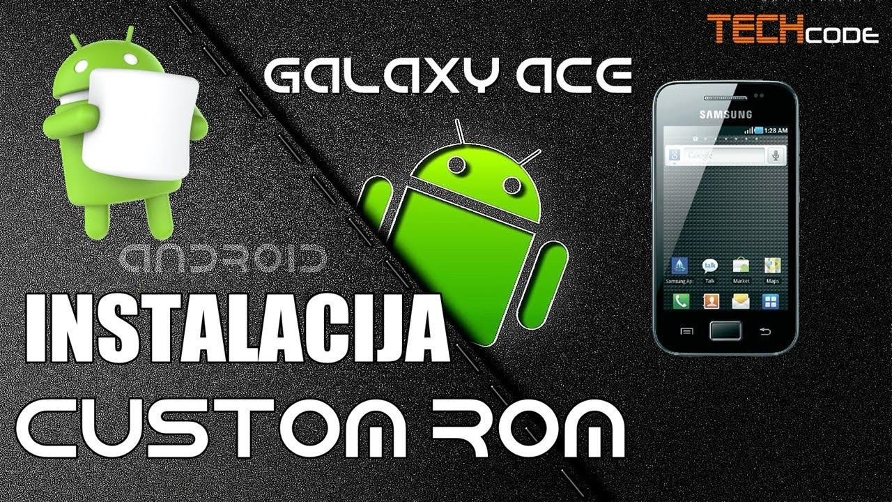 Instalacija Android Marshmallow Pecan-a na Samsung Galaxy Ace S5830i (CM  7 2)