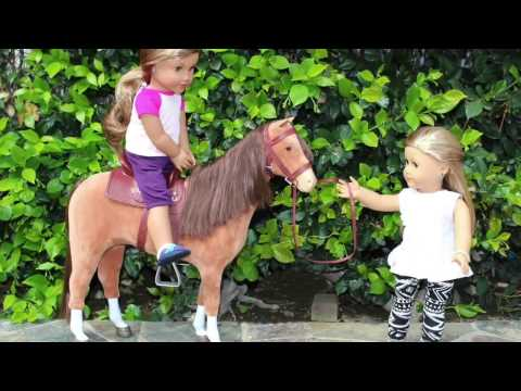 American Girl Doll Horse Playset Review