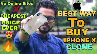 where to buy iphone x clone in india