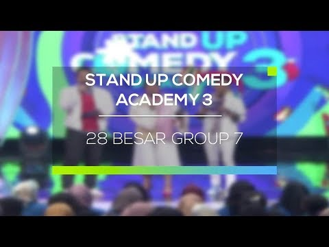 Download Youtube: Highlight Stand Up Comedy Academy 3 - 28 Besar Group 7
